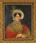Французский художник XIX в. Мадам Лабруст. х/м.