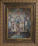 Otto Hamel, Интерьер церкви Визкирхе, Д/м.