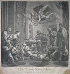 The death of St. Cecilia